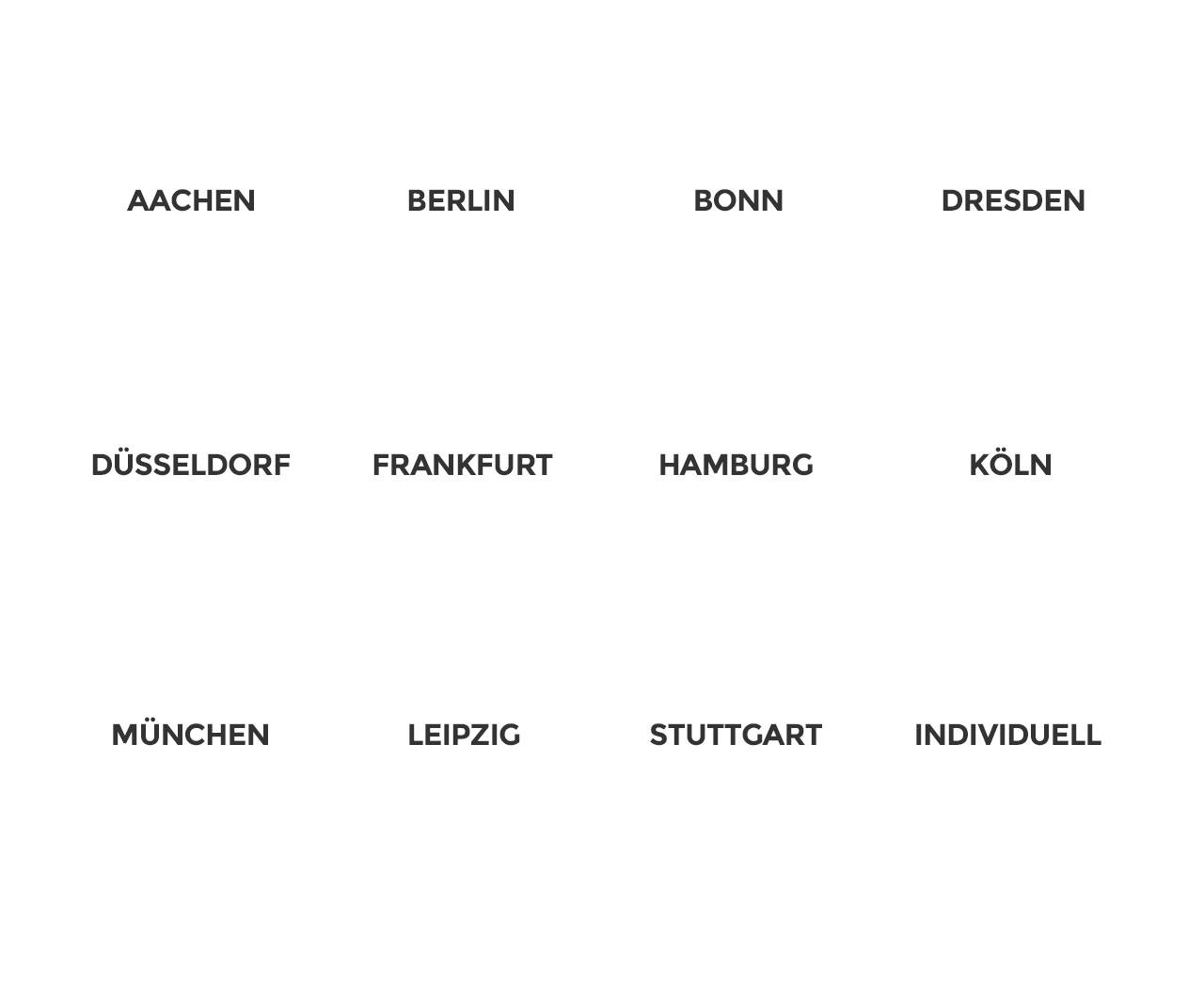 vorratsgesellschaften kaufen in Aachen, Berlin, Bonn, Dresden, Düsseldorf, Frankfurt, Hamburg, Köln, München, Leipzig, Stuttgart oder auch individuell