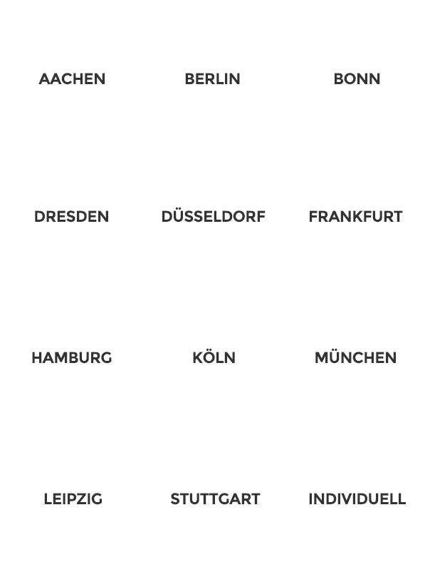 vorratsgesellschaften kaufen - von Aachen bis Stuttgart
